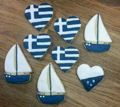 Greek - nautical cookies