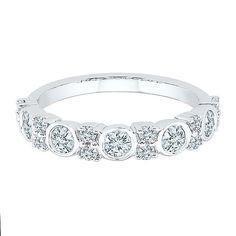 3/4 ct. tw. Diamond Ring in 10K White Gold - 2262216 - Helzberg Diamonds