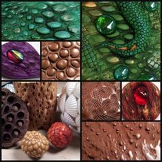 Polymer Clay Top Five Texture Tools   Textures from natural objects demonstration by Chris Kapono
