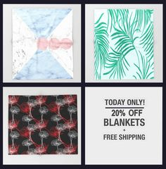TODAY FREE SHIPPING WORLDWIDE + 20% off all throw blankets in my shop on @society6 ad, promo, sale, regali, Geschenke idee, cadeaux, prints, #giftinspiration, #gifts4all, iphone cases, blanket, tech, wednesday, snow, bags, creative, wall clocks, morning, home decor, #art4sale, relax, tapestry, comfy, leggings, tshirt, laptop sleeves, interior design, hump day, renovation, ideas