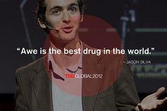 Jason Silva at TEDGlobal 2012. Photo: James Duncan Davidson