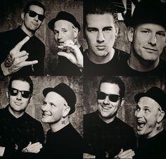 Matthew Shadows, Avenged Sevenfold and Corey Taylor, Slipknot/Stone Sour.