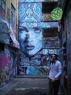 Hosier Lane #streetart #art #graffiti #dope