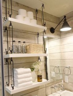 21 Floating Shelves Decorating Ideas | Around the House | Pinterest ...