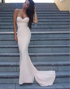 Simple Mermaid Light Pink Evening Prom Dresses, 2017 Long Party Prom Dress, Custom Long Prom Dresses, Cheap Formal Prom Dresses, 17086 sold by LoverDresses. Shop more products from LoverDresses on Storenvy, the home of independent small businesses all over the world.