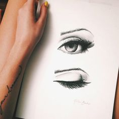 follow your dreams Drawing Tips, Realistic Eye Drawing, Eye Drawings, Drawing Faces, Learn To Draw, Fun Crafts, Pencil, Eyes, Portrait