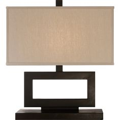 Suzanne Kasler Low Mod Table Lamp in Aged Iron with Linen Shade by Visual Comfort & Co. SK3207AI-L