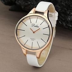 Women's Watch Fashionable Style Casual Rose Gold Curved Case  – USD $ 5.99