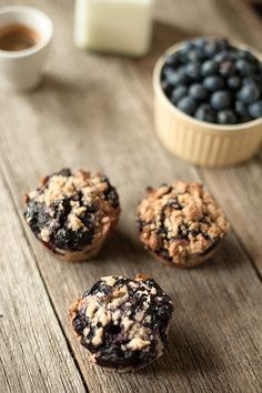 Blueberry Jam Muffins | Author: Alex and Rani | After a first date comes a second, and it was this easy blueberry muffin recipe that guaranteed  a third. | From: artofbaking.net