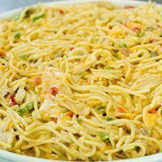 Chicken Spaghetti - Pioneer Woman Recipe | Key Ingredient