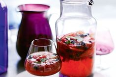 Kick start your celebrations with a non alcoholic punch packed with fresh fruity flavour.