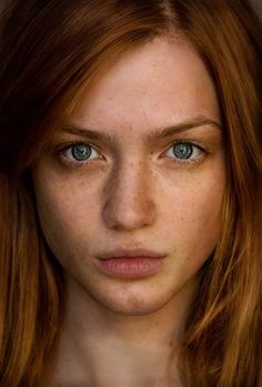 dfmodel: Stefani Brietzig by Joel Burger Natural Redhead, Beautiful Redhead, Real Beauty, Pure Beauty, Redheads Freckles, Freckle Face, Hottest Redheads, Burger, Face Hair