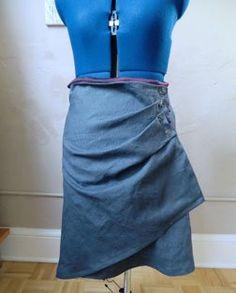 Tips on Sewing an Asymmetrical Skirt