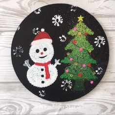 9 Easy Painting Ideas For Beginner – Art For Home Decor – Christmas Art, DIY & Crafts Are you looking for some easy painting ideas for home? Or you are a beginner in painting want to learn to draw, today you will get it Diy Crafts To Do, Crafts For Kids, Arts And Crafts, Beginner Art, Beginner Painting, Christmas Art, Christmas Decorations, Navidad Diy, 242