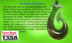 Maori Symbols Fish hook meaning