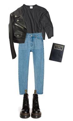 Tik by violetteandgrunge on Polyvore featuring polyvore Mode style Alexander Wang Monki Dr. Martens