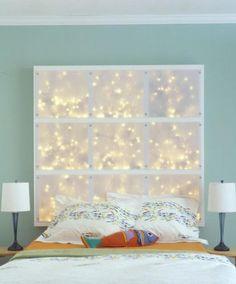 coole diy deko ideen schlafzimmer mit diy kopfteil als wanddekoration e1438856458318jpg - Hausgemachte Kopfteile Fr Betten