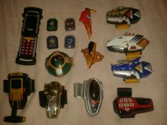 Power rangers power morpher collection. 18 Morphers!!
