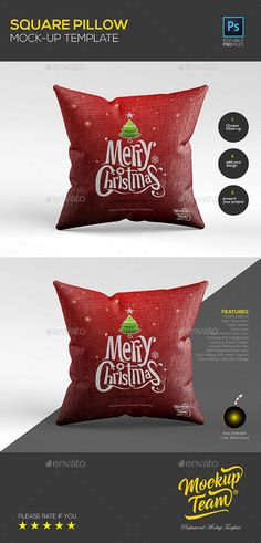 Pillow Mock-up Template