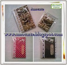 Caderneta e bloco http://www.amocarte.blogspot.com.br/