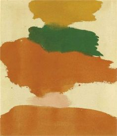 Helen Frankenthaler, Untitled, Colour Field Painting