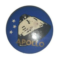Rare APOLLO Rocket Satellite Pin Brooch Vintage 60s Atomic Space Age... ❤ liked on Polyvore featuring jewelry, brooches, vintage brooches, vintage gold brooch, vintage jewellery, vintage pins brooches and star brooch