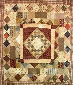 Persnickety Quilts: Make Your Own Medallion Quilt, with Simple Tips for Prolonging the Process Quilts Vintage, Old Quilts, Antique Quilts, Scrappy Quilts, Small Quilts, Mini Quilts, Crib Quilts, Easy Quilts, Primitive Quilts