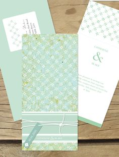 speckled star - turquoise Lilykiss wedding invitations.