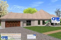RDM5 House Plan No W1838 Single Storey House Plans, All Design, House Design, Site Plans, Detailed Drawings, Garage Plans, House Floor Plans, Home Collections, Corner