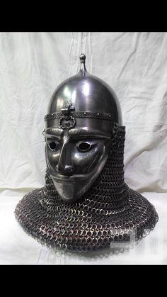 Ottoman turkish helmet war mask