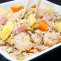Arroz chino tres delicias casero