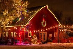 Christmas Barn