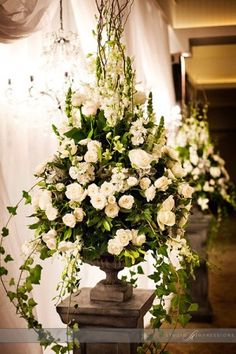 downton abbey flower arrangements - Google Search