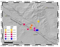 Earthquake risk elevated with detection of spontaneous tectonic tremor in Anza Gap #Geology #GeologyPage