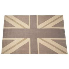 Union Jack Rug from Z Gallerie decor, idea, sweet, floor, jack rug, hous, modern rugs, room, union jack