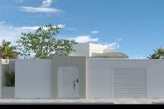 Resultado de imagem para fachadas de muros residenciais simples