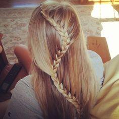 cabeloo eprfeitooo trancça