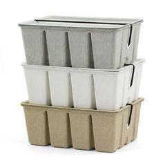 Aufbewahrungsbox - Pulp Storage Box beige