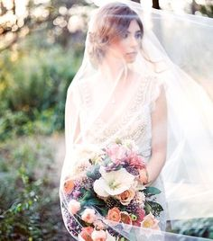 Winter gives way to spring like the dark gives way to light - ethereal #bridal portraits finish off this stunning styled shoot!