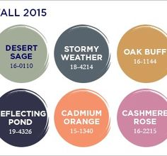 2015 Fall Pantone Colors | Jewelry Making Blog | Information | Education | Videos