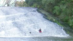Feed the rays and try boarding down Rere Falls in Gisborne! KiwiLiving.nz