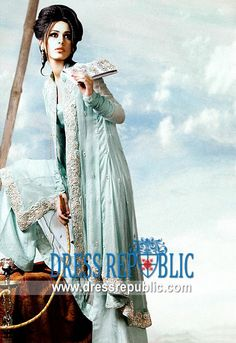 Sherbet Virginia, Product code: DR5118, by www.dressrepublic.com - Keywords: Shalwar Kameez Shops in New York, Karachi Fashion Week 2011 Dresses Buy Online in USA
