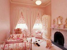 grandchildren girls bedroom  cute!