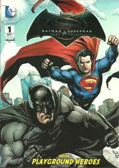 Cover for General Mills Presents Batman v Superman: Dawn of Justice #1 (2016)