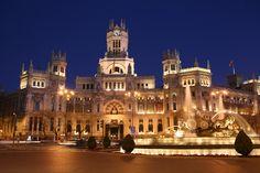 Plaza de las Cibeles, Madrid, Spain #travel #photography #europe