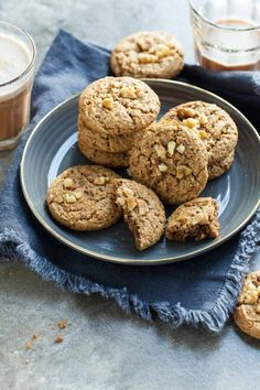 Flourless Walnut Cardamom Cookies (Gluten-Free, Paleo) These subtly spiced flourless walnut cookies are nutty and rich and a cinch to make. Gluten Free Cookies, Gluten Free Baking, Gluten Free Desserts, Paleo Sweets, Keto Cookies, Healthier Desserts, Chip Cookies, Real Food Recipes, Cookie Recipes