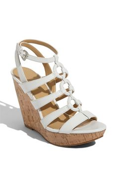 these might be my go-to summer sandal for dressier occasions
