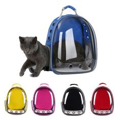 Purchase Transparent Capsule Pet Cat Dog Kitty Puppy Backpack Carrier Outdoor Travel Bag from Bluelans on OpenSky. Share and compare all Pets. Cat Backpack Carrier, Puppy Backpack, Puppy Carrier, Cat Carrier, Pet Travel, Travel Backpack, Cat Dog, Shops, Cool Backpacks