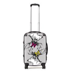 Stand out from the crowd and celebrate your Scottishness, wherever you are in the world. This beautiful Gillian Kyle suitcase comes in a variety of size options and is adorned with Gillian's intricately-drawn proud and majestic Scottish stags and bright butterflies. With this fabulous case you will be the envy of the baggage carousel!