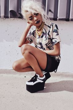 Best Fall Fashion Trends For Women - Fashion Trends Afro Punk Fashion, Grunge Fashion, Urban Fashion, Girl Fashion, Street Fashion, Fall Fashion Trends, Autumn Fashion, Fashion Tips, Alternative Girls